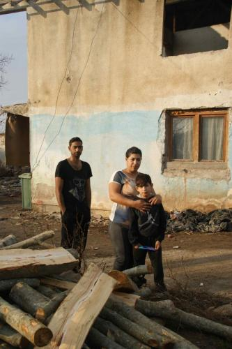 Familie mit verstorbener Tochter /Fushe Kosovo 2017